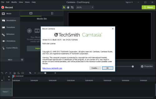 TechSmith Camtasia Studio 9.0.3 Keygen + Crack Download