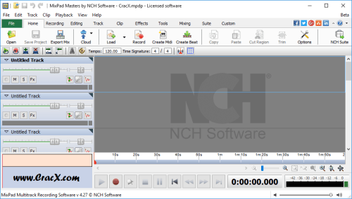 NCH Mixpad Masters Edition 4.27 Serial Key + Patch Download