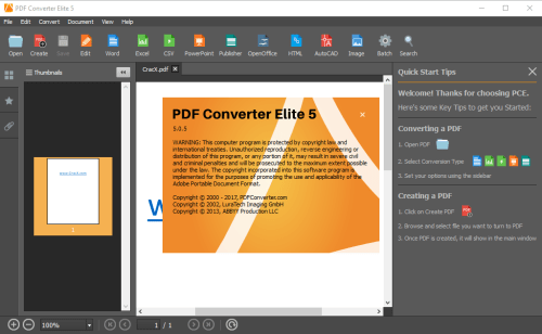 PDF Converter Elite 5.0.5.0 Serial Key & Activator Download