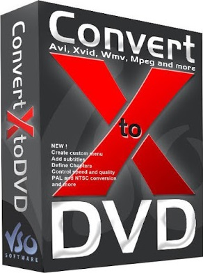 VSO ConvertXtoDVD 7.0.0.27 Serial Key & Crack Download