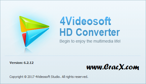 4Videosoft HD Converter 6.2.12 Crack & Keygen Download
