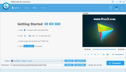 4Videosoft HD Converter 6.2.12 Keygen & Patch Download