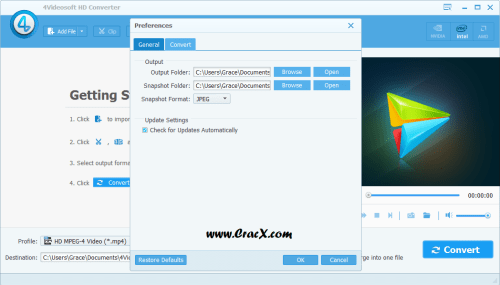 4Videosoft HD Converter 6.2.12 Serial Key Free Download