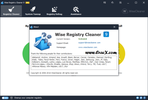 Wise Registry Cleaner Pro 9.43.614 Patch & Keygen Free Download