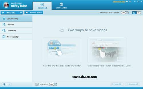 Wondershare AllMyTube 4.10.2.3 Crack & Serial Key Final Download