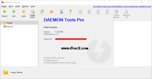 DAEMON Tools Pro 8.2.0.0708 Serial Key & Crack Download