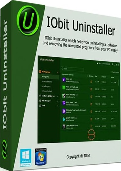 IObit Uninstaller Pro 6.4 Crack & License Key Download