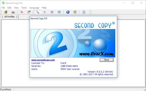 Second Copy 9.0.0.2 Keygen & Activator Download