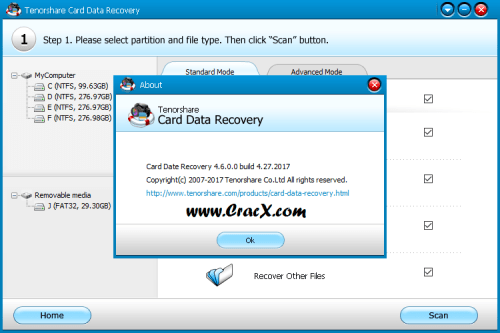 Tenorshare Card Data Recovery 4.6 License Key Final Download