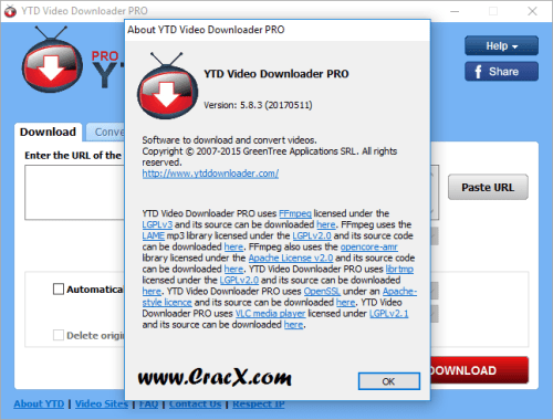 YTD Video Downloader Pro 5.8.3 License Key & Activator Download