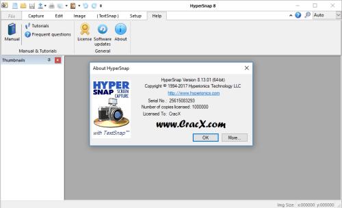 HyperSnap 8.13.01 License Key & Activator Download