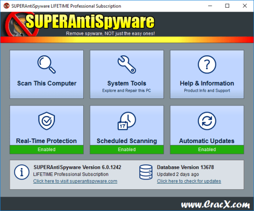 SUPERAntiSpyware Professional 6.0.1242 Serial Key Download