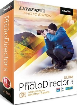 CyberLink PhotoDirector Ultra 8.0.3019.0 + Crack Download