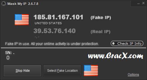 Mask My IP 2.6.7.8 Patch & License Key Final Download