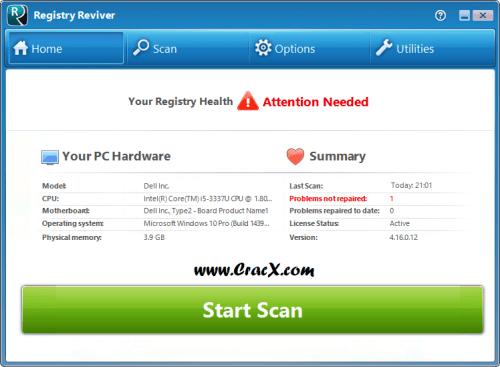 ReviverSoft Registry Reviver 4.16.0.12 Serial Key Download