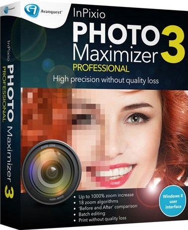 Avanquest InPixio Photo Maximizer 3 Pro + Crack Download
