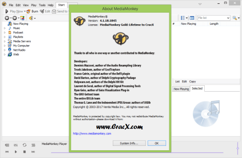 MediaMonkey Gold 4.1.18.1845 License Key Final Download