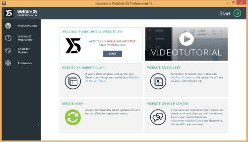 WebSite X5 Professional 14.0.1.1 Crack & License Key Download