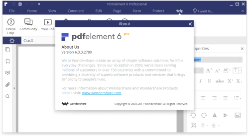 Wondershare PDFelement Pro 6.3.3.2780 Keygen Free Download