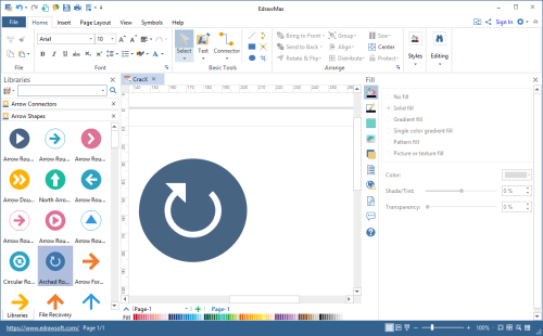 Edraw Max 9.0 {2018} Full License Key + Patch Free Download