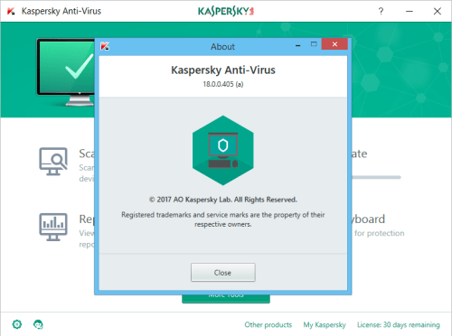 kaspersky antivirus 2018 download full