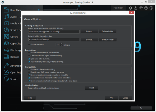 Ashampoo Burning Studio 19.0.1.5 Patch & Serial Key Download