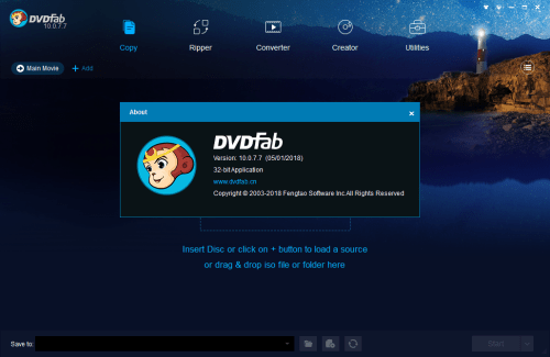 DVDFab 10.0.7.7 [2018] Full Keygen & Activator Download