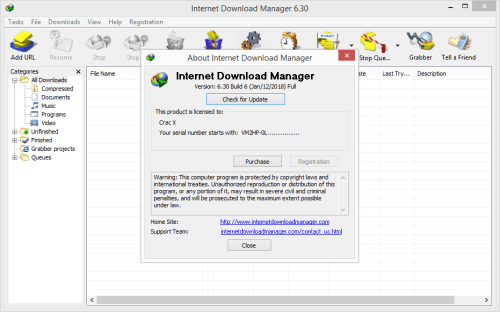 IDM 6.30 Build 6 incl Activator Free {100% Working} Download