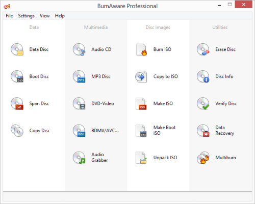 BurnAware Professional 11 Crack & Serial Key {2018} Full Version