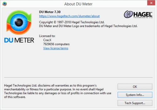 DU Meter 7.30 Build 4769 Full Serial Key & Patch Download
