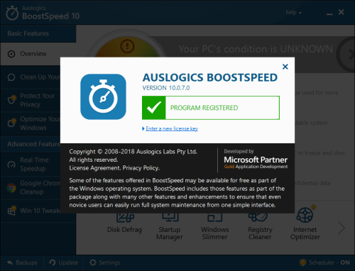 Auslogics BoostSpeed 10.0.7.0 Keygen & Activator Download