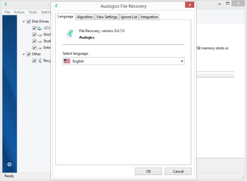 Auslogics File Recovery 8.0.7 Crack & Serial Key Download