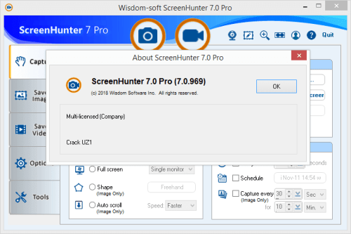 ScreenHunter Pro 7.0.969 Full Keygen & Activator Download