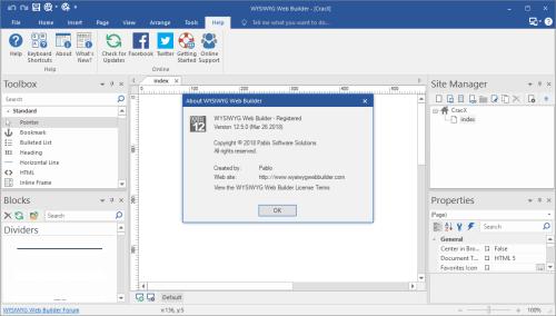 WYSIWYG Web Builder 12.5.0 Activator & Keygen Download