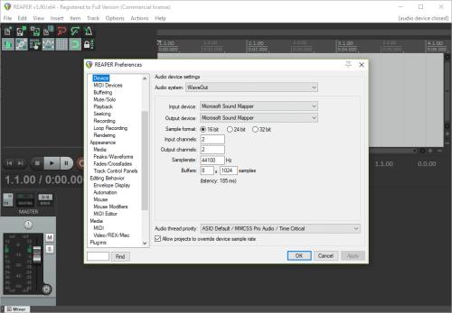 Cockos REAPER 5.80 Full Patch + Serial Key Download