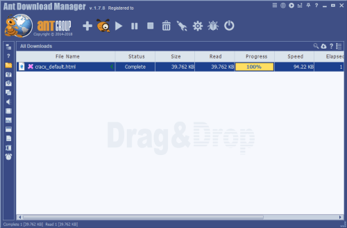 Ant Download Manager Pro 1.7.8 Serial Key + Patch Download