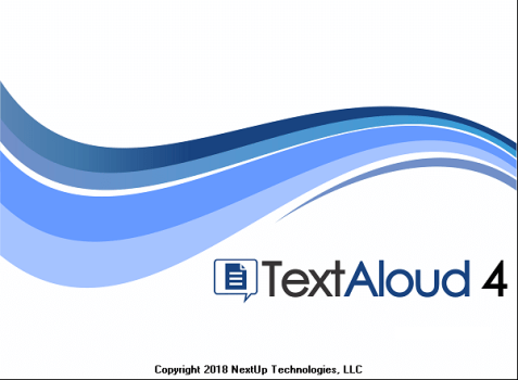 NextUp TextAloud 4.0.9 Full Crack & License Key Download