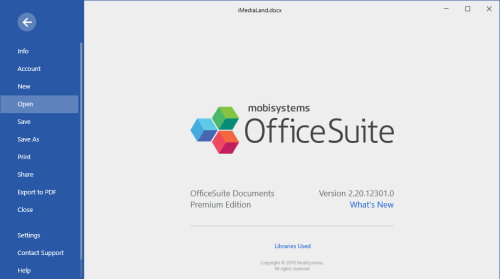 OfficeSuite Premium Edition 2.20.12301.0 Full Patch Download