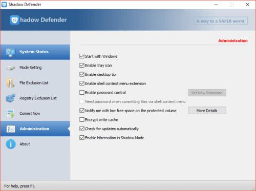 Shadow Defender 1.4.0.680 Serial Key & Crack Download