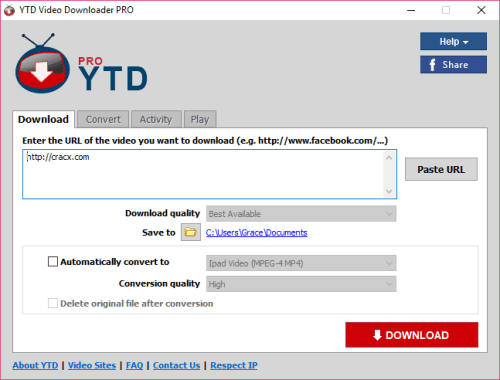 YTD Video Downloader Pro 5.9.7 Full License Key Download