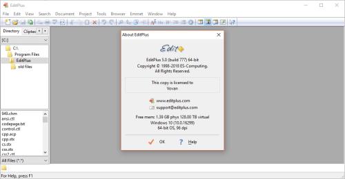 EditPlus 5.0.777 Full Keygen & Activator Free Download