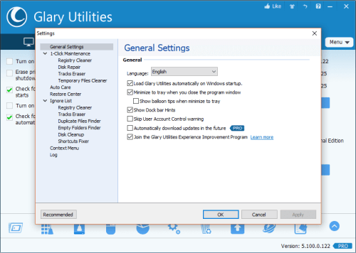 Glary Utilities Pro 5.100.0.122 Patch & License Key Download
