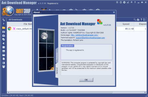 Ant Download Manager Pro 1.7.11 Keygen & Activator Download
