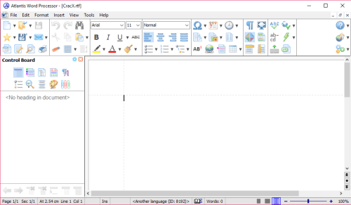 Atlantis Word Processor 3.2.5 License Key + Patch Download