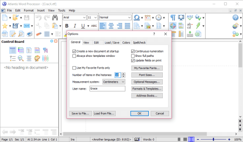 Atlantis Word Processor 3.2.5 Patch & Serial Key Download