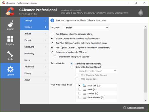 CCleaner Pro 5.45.6611 Full Crack & Serial Key Download