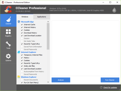 CCleaner Pro 5.45.6611 Full License Key + Crack Download