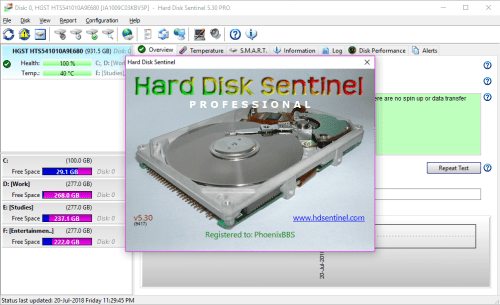 Hard Disk Sentinel Pro 5.30 Build 9417 Full Keygen Download