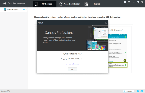 Syncios Manager Pro 6.5.0 Keygen & Activator Download