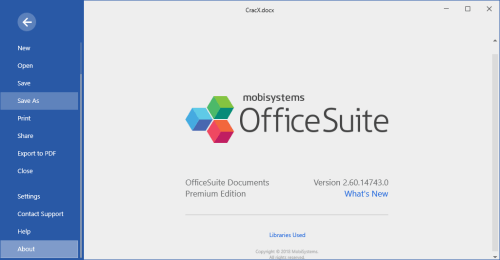 OfficeSuite Premium Edition 2.60.14743.0 Full Keygen Download